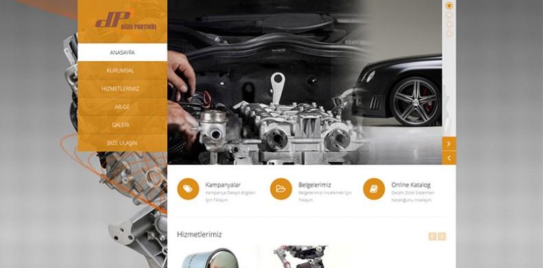 Diesel Particul Web Site