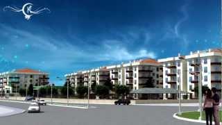 Celikkent Park Houses 3D Animation