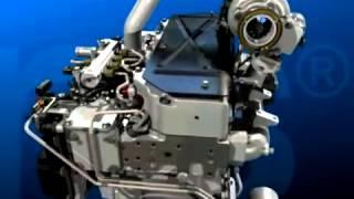 3D Diesel Engine Animation